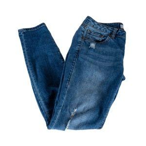 CAbi Distressed Skinny Jeans Size 2